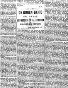 1. 'Los comienzos de la Exposici+¦n. Psicolog+¡a del visitante' - 'La Naci+¦n' de Buenos Aires, 23-V-1900