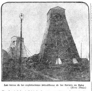 Torre petrolífera
