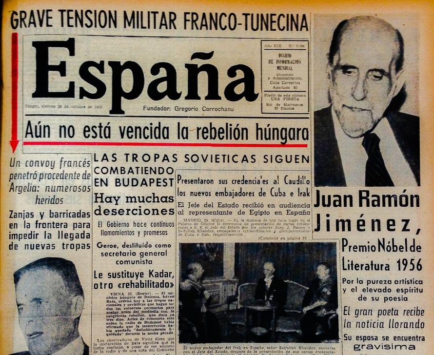Resultado de imagen de diario españa tanger